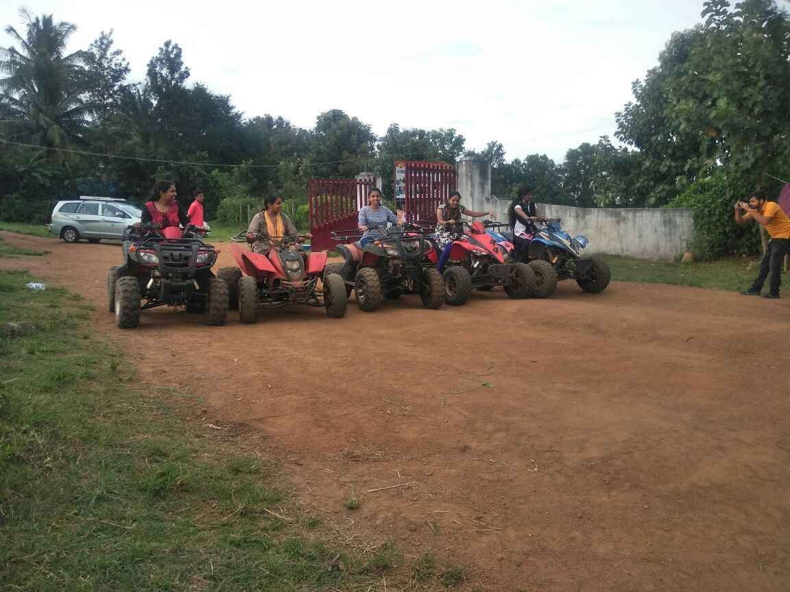 Quad biking in Coorg