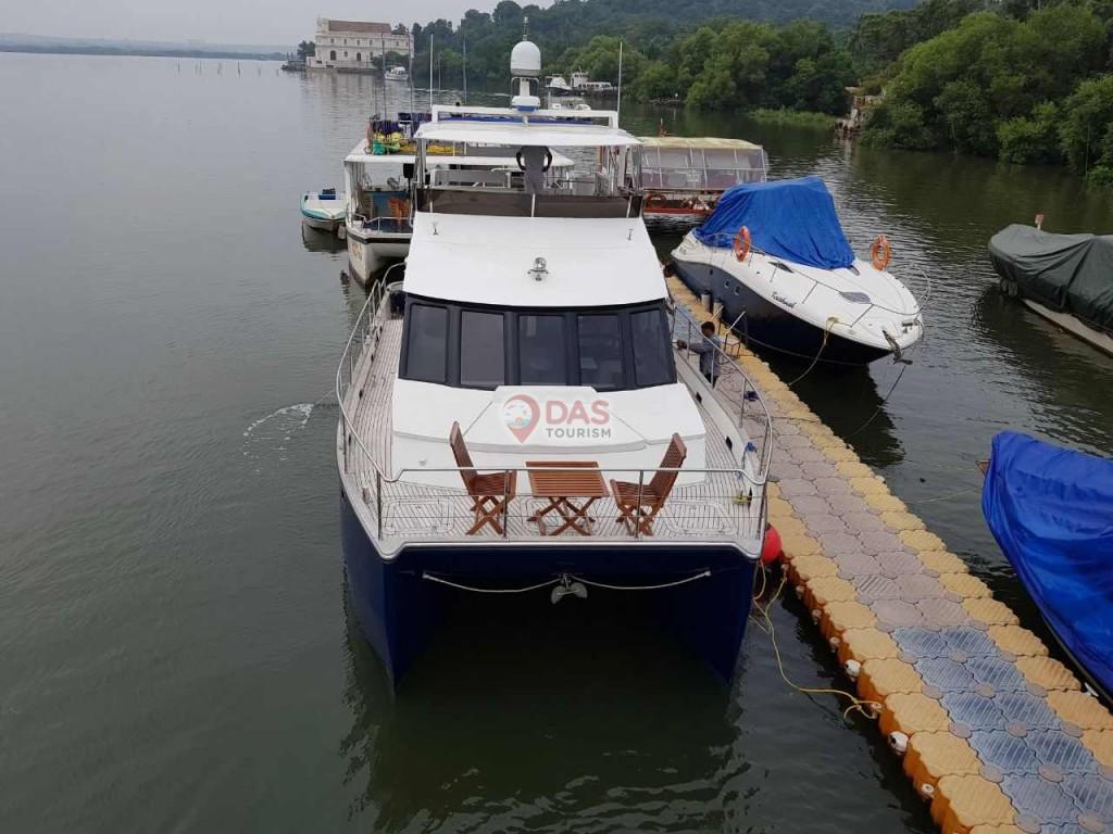 Shantam Catamaranat jetty
