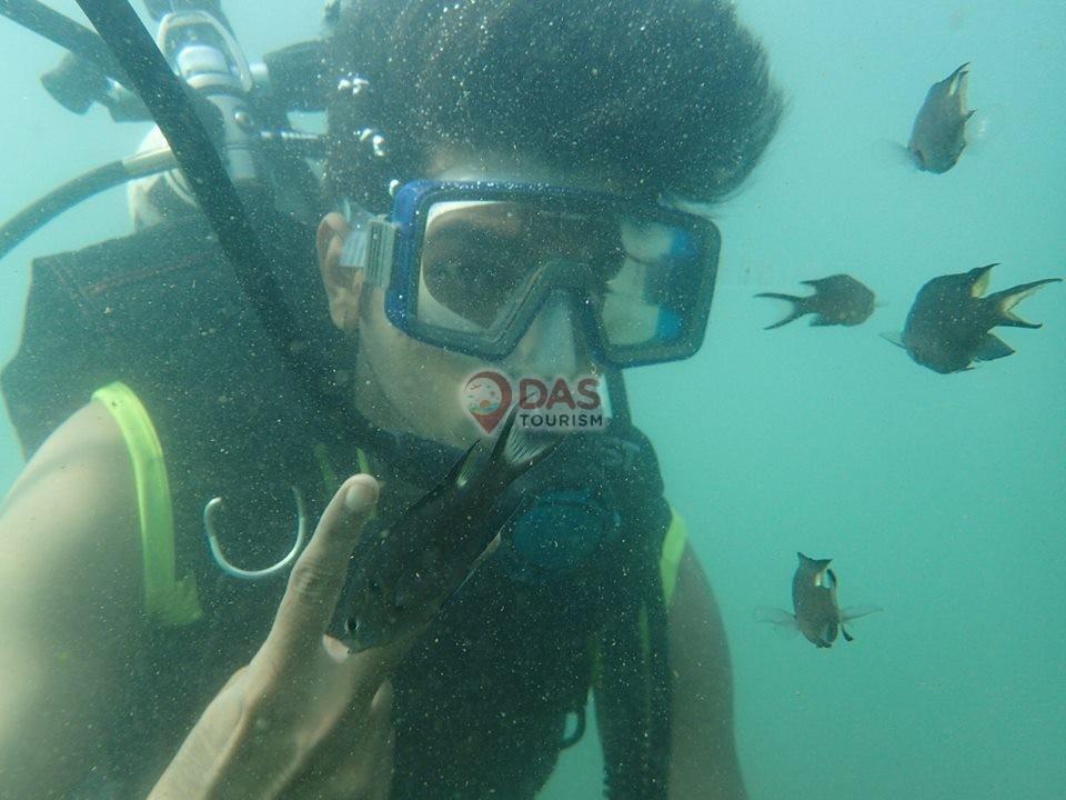 Scuba in Goa