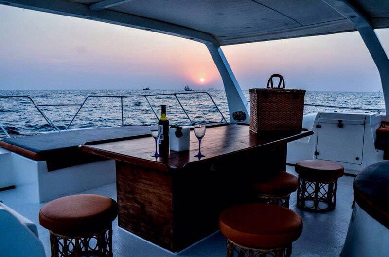 scaramanga catamaran boat
