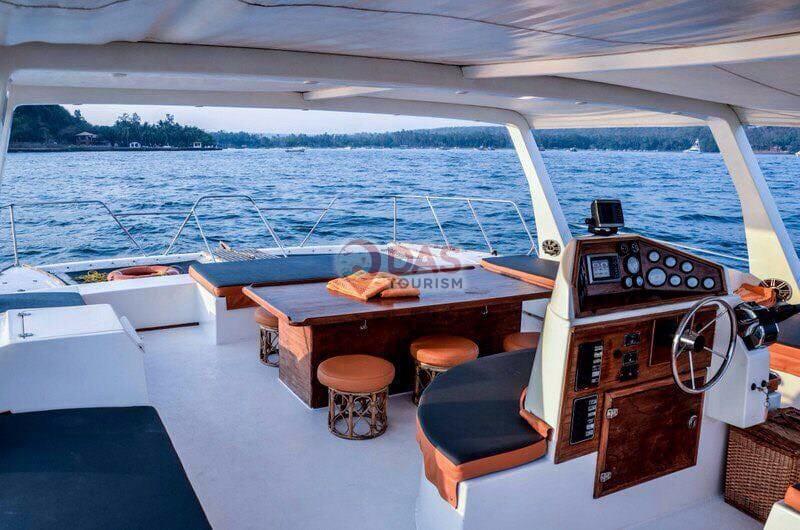 luxury scaramanga catamaran