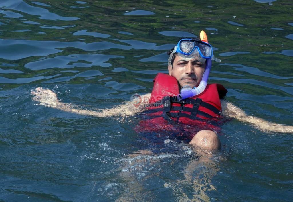 Snorkeling in goa