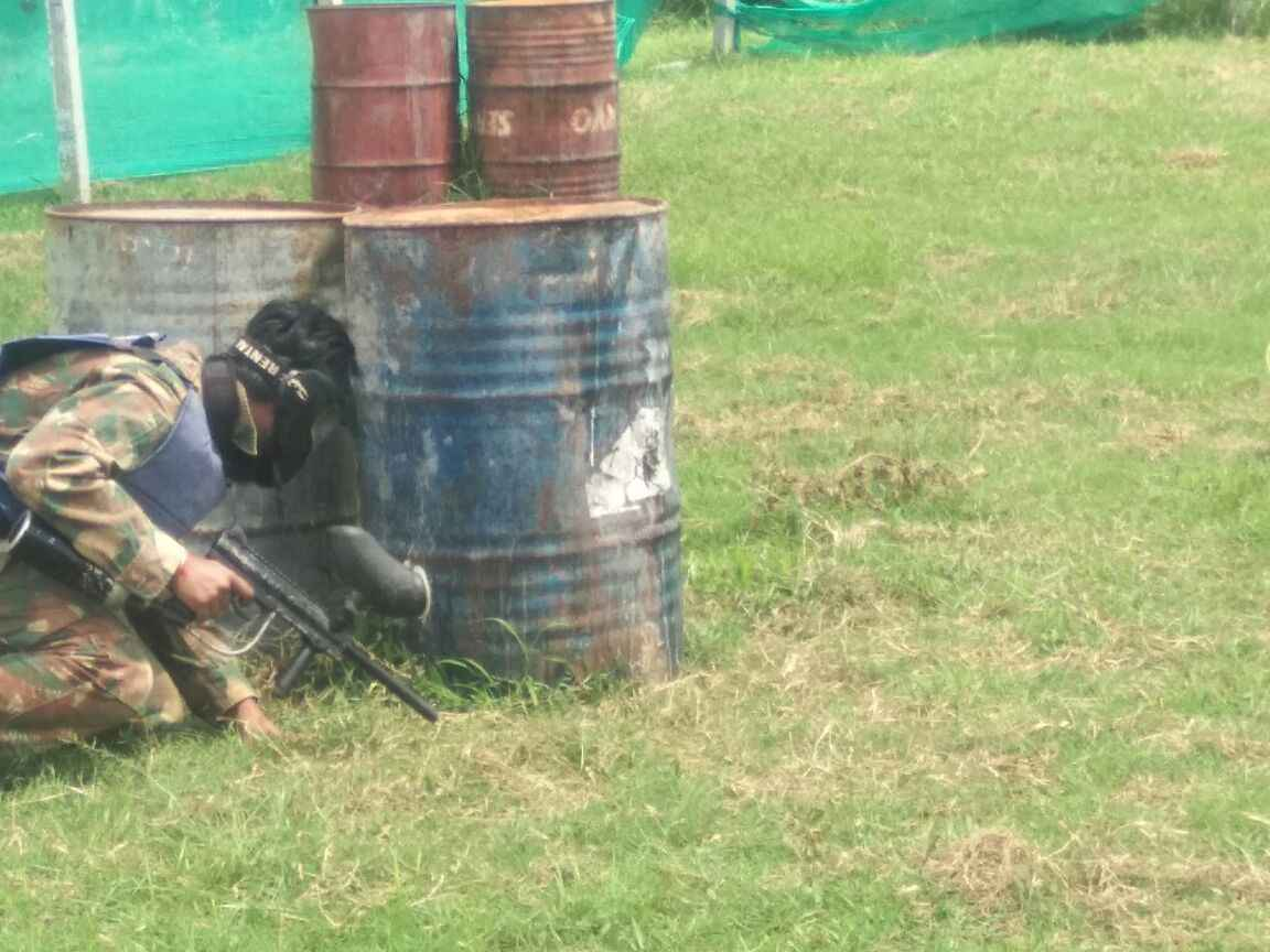 Paint ball in Coorg