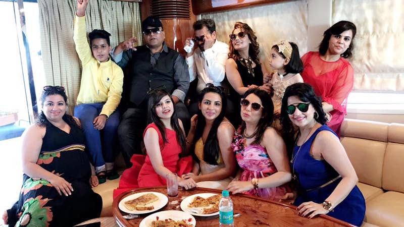 Bachelor party in yacht in goa