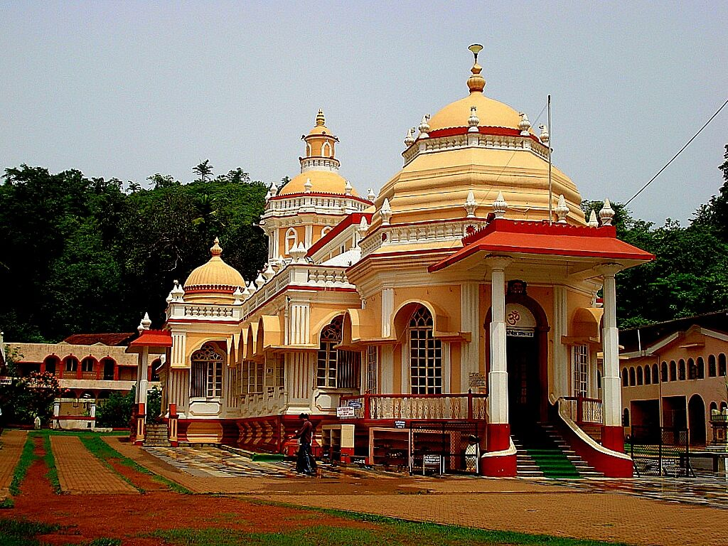 famous temple in south goa