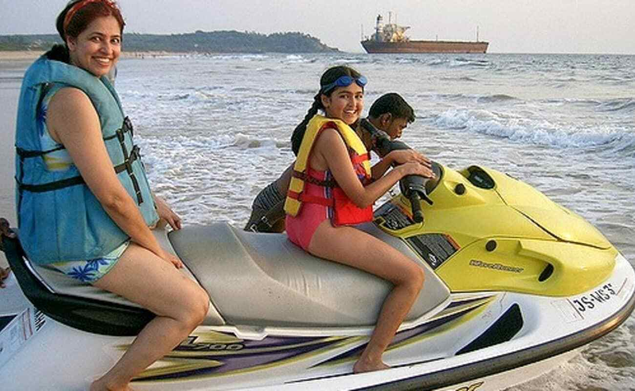 Water sports @ south goa