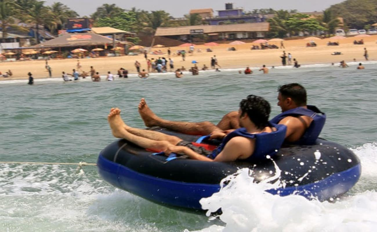 5 - Water sports package @calangute beach